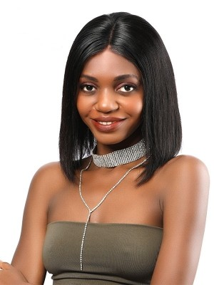 Cheap Human Hair Lace Front Wigs for Black Women,Glueless Beginners Friendly 6 Inch Parting Lace Front Bob Wig 10 inch Flash Sales Only 3pcs Everyday