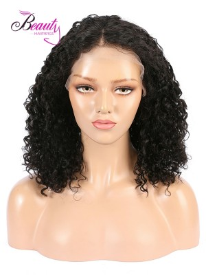 Brazilian Virgin Curly Hair Lace Front Wig 130% 150% 180% Density