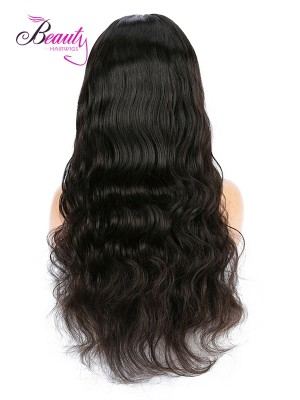 Brazilian Virgin Hair Body Wave Human Hair  Lace Front Wig 130% 150% 180% Density