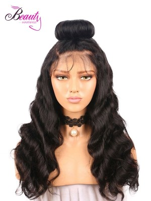 Glueless Pre Plucked 360 Lace Wigs, Cheap Human Hair Wigs for Sale,Body Wave Frontal Sew in Wigs for Black Women