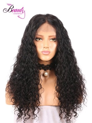 Beautyhairwigs Glueless 100% Human Hair Lace Wigs, Candy Curly Natural Pre Plucked Hairline 360 Lace Frontal Wigs