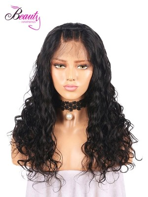 Beautyhairwigs Natural Curly Human Hair 360 Lace Frontal Wigs for Women Indian Remy Hair
