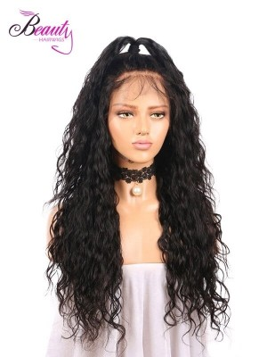 Human Hair 360 Lace Front Wigs for Black Women,Glueless African American Human Hair Wigs with Baby Hair